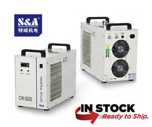 Genuine S a Cw 5200dh Industrial Water Chiller 110v 60hz 2 Year Warranty Usa