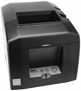 Star Micronics Tsp654iiu Usb Thermal Receipt Printer gray
