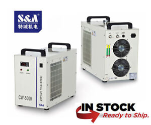 Genuine S a Cw 5000dg Industrial Water Chiller 110v 60hz Warranty Usa Stock