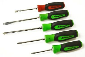 Snap On Sgd Sgdp Philips Flat Head Screwdriver Mixed Lot Of 5 Free Shipping