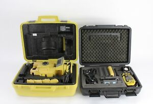 Topcon Gpt 8203a 3 Robotic Total Station Kit With Satel Radios Rc 2r