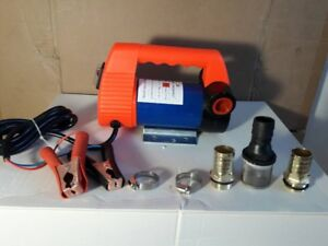 Pump Pump 12v For Transferring Diesel Fuel Oil Gasoline Water