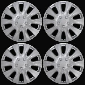17 Set Of 4 Wheel Covers Full Rim Snap On Hub Caps Fit R17 Tire