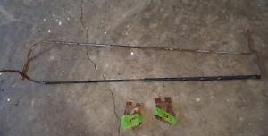 1959 60 El Camino chevy Nomad Wagon Tailgate Torsion Bars With Mounting Bracket