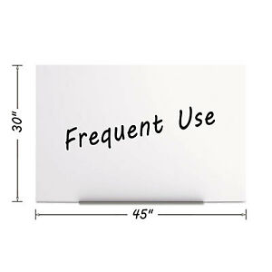 Magnetic Dry Erase Tile Board 29 1 2 X 45 White Surface