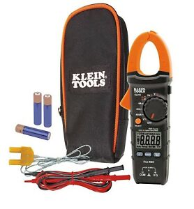 New Klein Tools Cl310 Digital Clamp Meter Ac Auto ranging 400a Trms True Rms