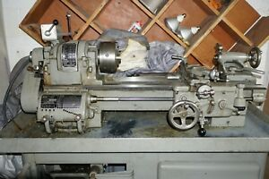 South Bend Heavy 10l Lathe With Taper Attachment And 3 Jaw Chuck 1981 Year Mint
