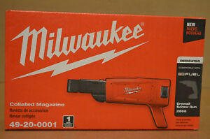 Brand New Milwaukee 49 20 0001 Tapered Nose Collated Drywall Screwgun Attachment