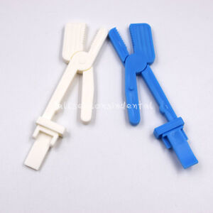 X ray Film Radiograph Holder Clip Supply For Dental Plastic Snap Clamp Option