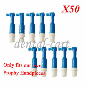 50pcs Polishing Prophy Brushes For Dental Portable Hygiene Handpiece Cordless