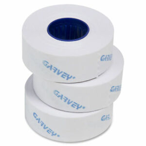 One line Pricemarker Labels 7 16 X 13 16 White 1200 roll 16 Rolls box