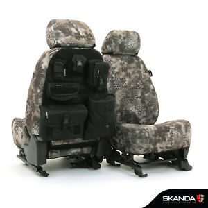 Kryptek Banshee Camo Neosupreme Tactical Front Seat Covers For Chevy Colorado