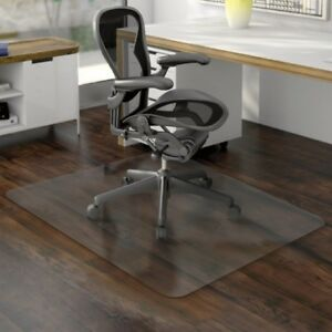 Economat Anytime Use Chair Mat For Hard Floor 46 X 60 Clear