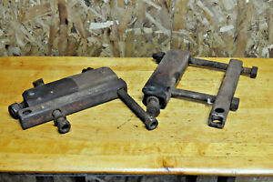 Farmall H Hitch Cultivator Mounting Support Brackets
