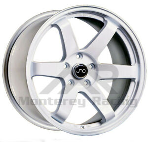 17x8 25 5x108 Jnc 014 Gloss White Made For Ford Volvo