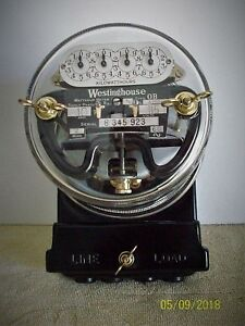 Westinghouse Ob Meter Pristine Condition 25 Amp 115 Volts