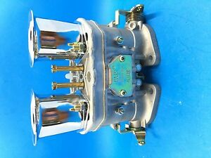40idf Oem Carburetor Air Horns Replacement For Solex Dellorto Weber Empi 40mm
