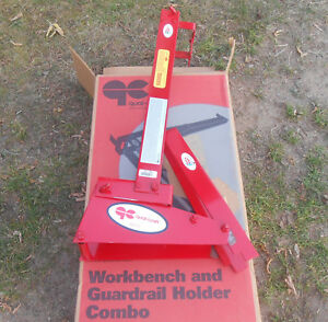 Qual craft Workbench Guardrail Holder Combo 2204 Roofing Tools Qualcraft New