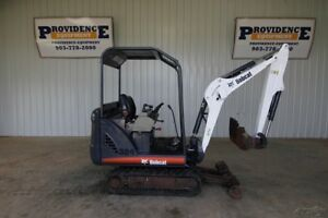 Bobcat 324 Compact Track Excavator Front Aux Hydraulics