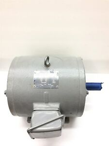 Teco Electric Motor 2 Hp 1165 Rpm 230 460 Volts 3 Phase 184t Frame Vfd Duty