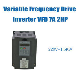 1 5kw 220v 2hp 7a Variable Frequency Drive Inverter Vsd Vfd Cnc Product Hot