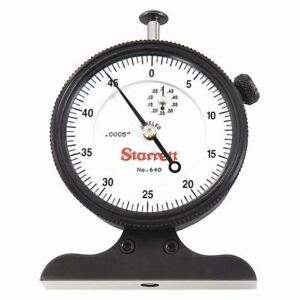 Starrett 640jz Dial Depth Gage 0 To 1 2 Range G0687736