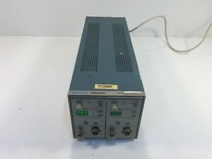 Tektronix Tm502a Power Module Chassis With 2x Am503b Current Probe Amplifiers