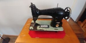 Singer 44 90 Walking Foot Industrial Sewing Machine Antique 1941 Very Rare