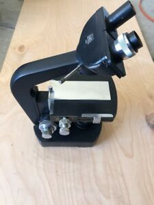 Wild Heerbrugg M20 Microscope With Head And Stage And Bottom Light Port