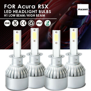 Front H1 Cree Led Headlight Conversion Kit Bulbs Beam For Acura Rsx 2004 2002