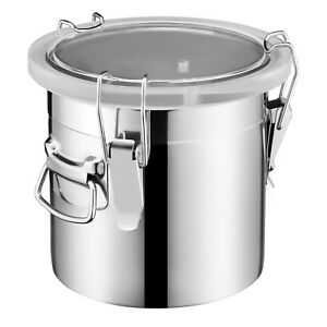 New 5 Gallon Vacuum Chamber Degass Urethanes Silicone Epoxies Stainless Steel