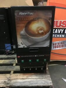 Racetrac Cappuccino Machine 4 Flavor Options