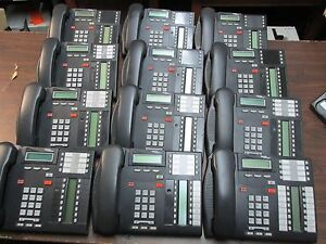 Nortel Mics 0x32 Telephone System With Call Pilot 100 12 T7316e Telephone Sets