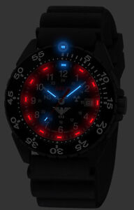 Khs Tactical Watches Black Army Ranger H3 lighting Date Swiss Made Khs enfbs db
