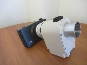 Nikon Fx 35dx Camera With Microscope Afx dx Exposure Controller 6193 I
