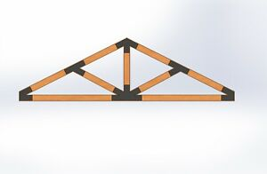 Decorative Truss Plates Made From 12ga Steel