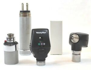 Welch Allyn 3 5v Diagnostic Set 25020a Otoscope 11720 Ophthalmoscope