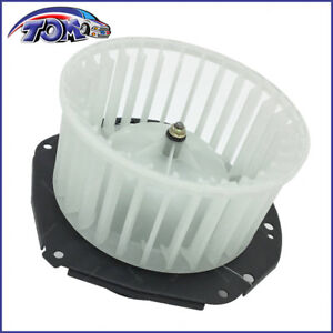 Heater Blower Motor W fan Cage For Chevy S10 Gmc S 15 Sonoma Pickup Isuzu Hombre