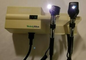 Welch Allyn 767 3 5v Wall Transformer Diagnostic Set W Otoscope Ophthalmoscope