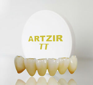 26 Colors Shade Dental Zirconia Block disc High Translucent 55 For Open System