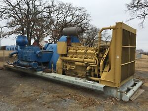 National 8 p 80 Triplex Mud Pump caterpillar 398 Diesel Engine Oilfield Drill