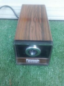 Panasonic Pencil Sharpener tested And Works Excellent