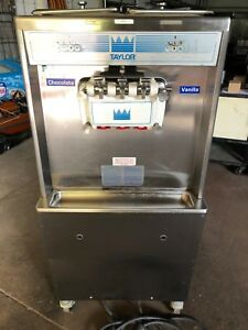Taylor 754 27 Three Flavor Ice Cream Machine