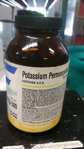 Potassium Permanganate crystalline certified Acs Fisher Chemical 500 G