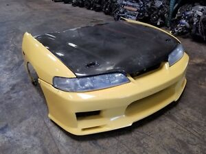 1994 1998 2001 Acura Integra Type R Jdm Db8 Front End Conversion Nose Cut Yellow