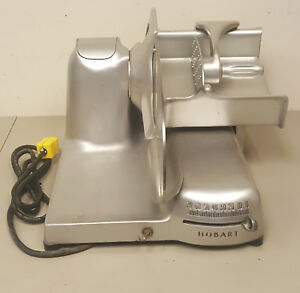f99870 Hobart 410 Meat And Cheese Deli Slicer