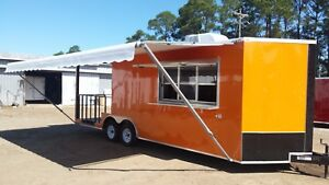 Concession Trailer Food Trailer new 8 5x24ta With 8 Porch Much More