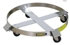 Wesco Stainless Steel Drum Dolly Ss3 hrz 240192