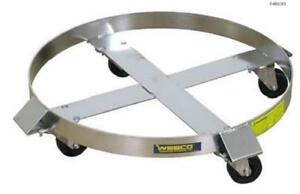 Wesco Stainless Steel Drum Dolly Ss3 hrss 240193
