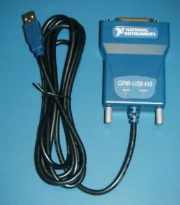 Ni Gpib usb hs Gpib Controller For Usb National Instruments tested